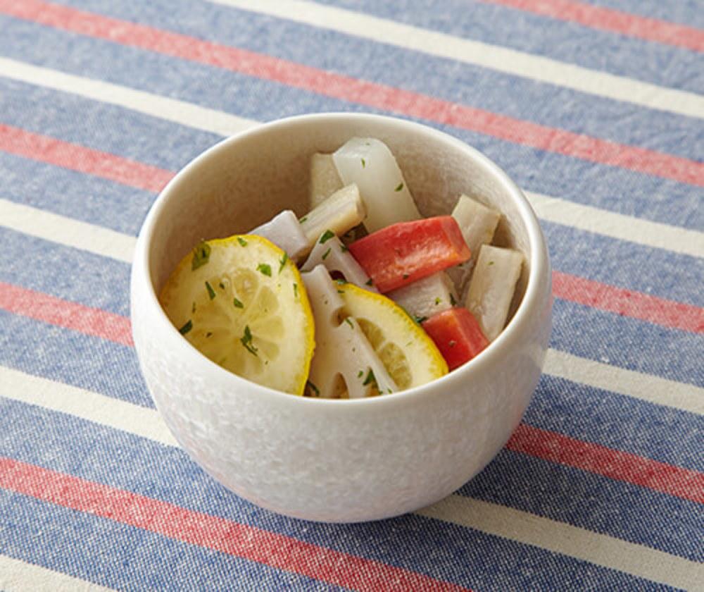 レモン風味の温野菜