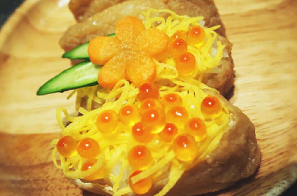 甘さ控えめジューシーいなり寿司