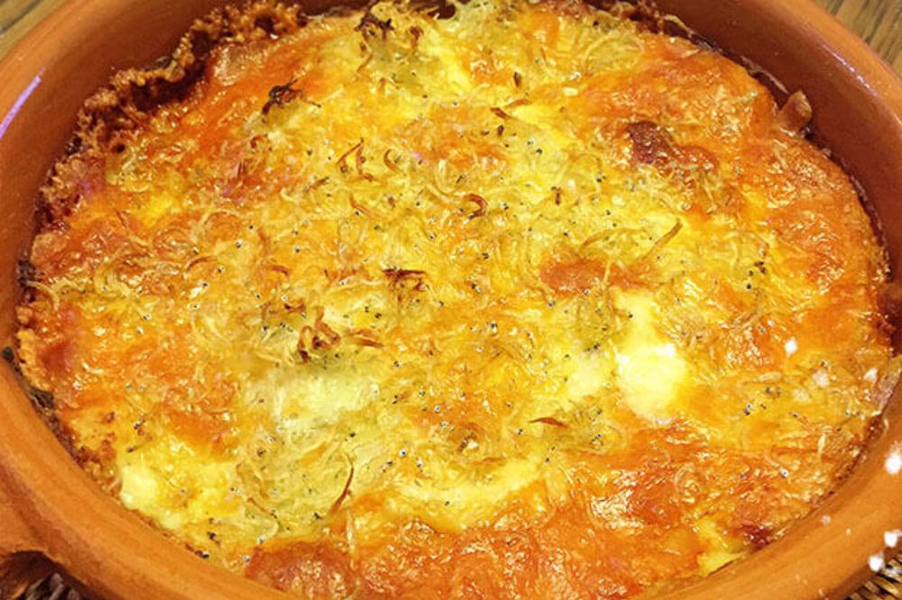 タラモのしらすチーズ焼き