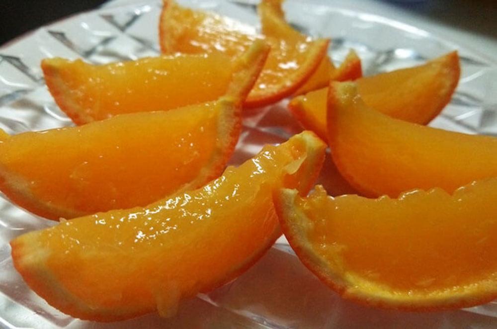 オレンジそのものゼリー