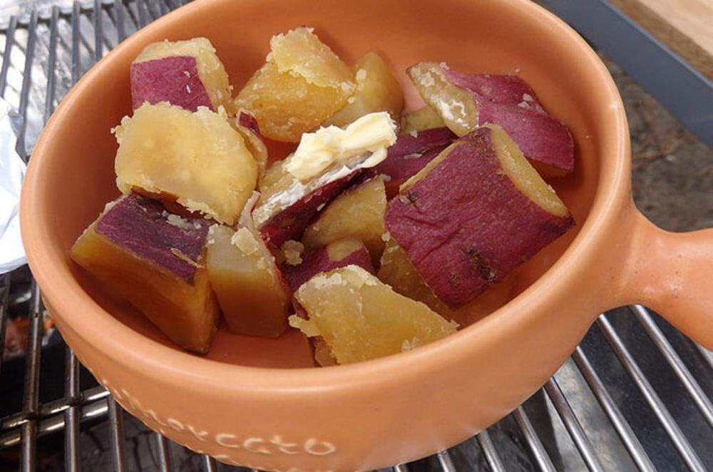 BBQでシナモン香るスィートポテト
