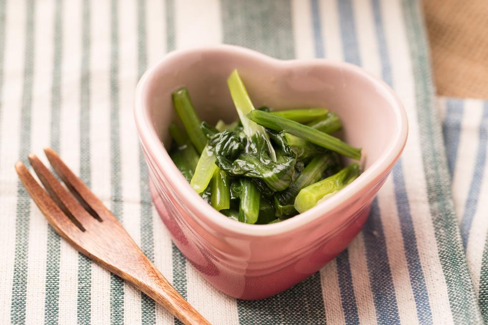 小松菜の中華塩炒め
