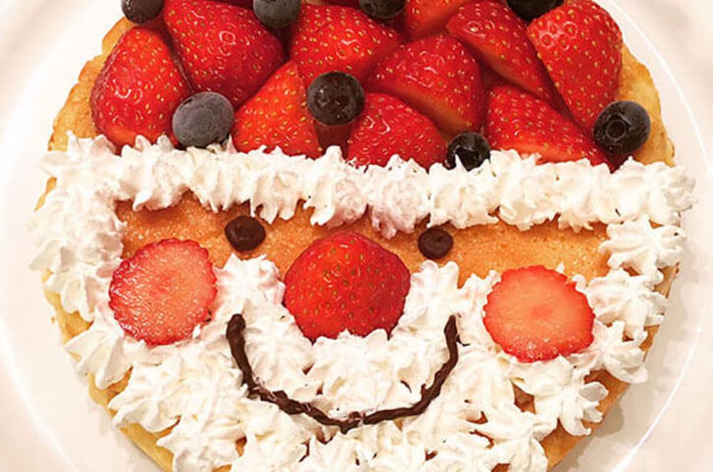 サンタのベイクドチーズケーキ
