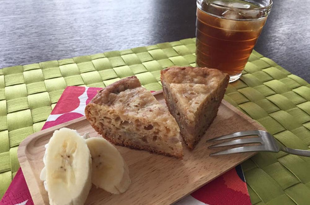 簡単♪炊飯器de蜂蜜バナナケーキ