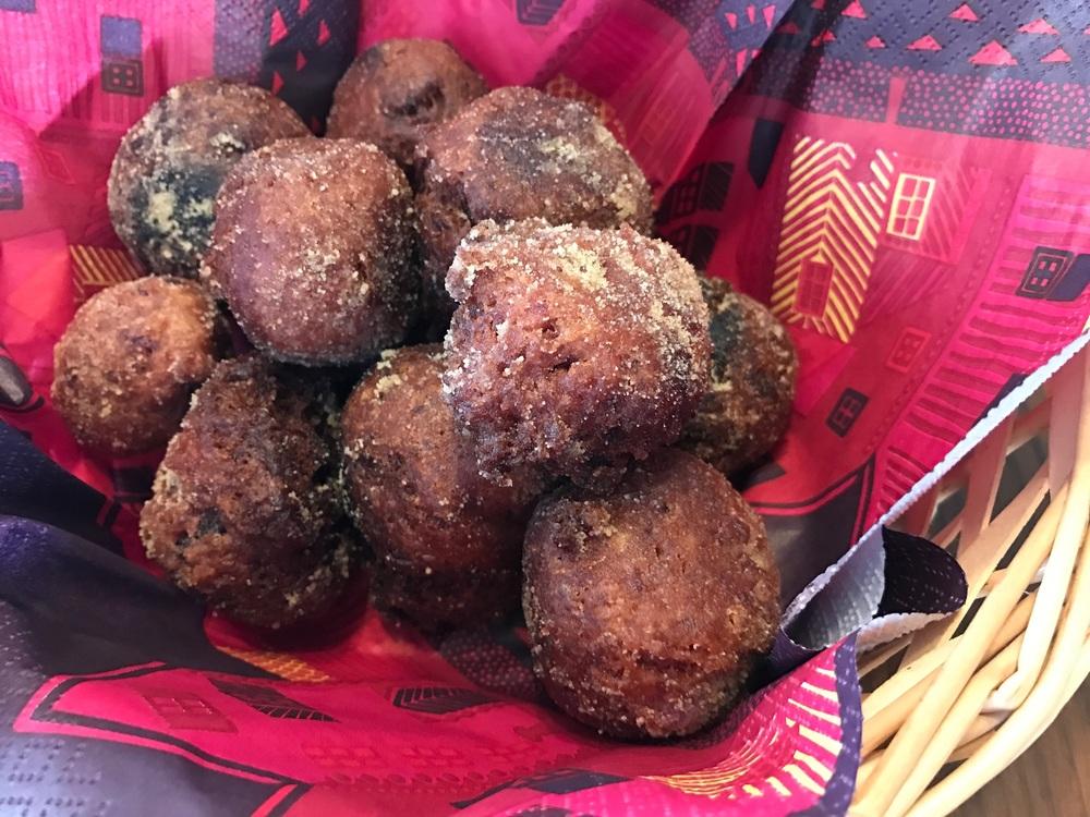 子どもと一緒に♡紫芋のドーナツ