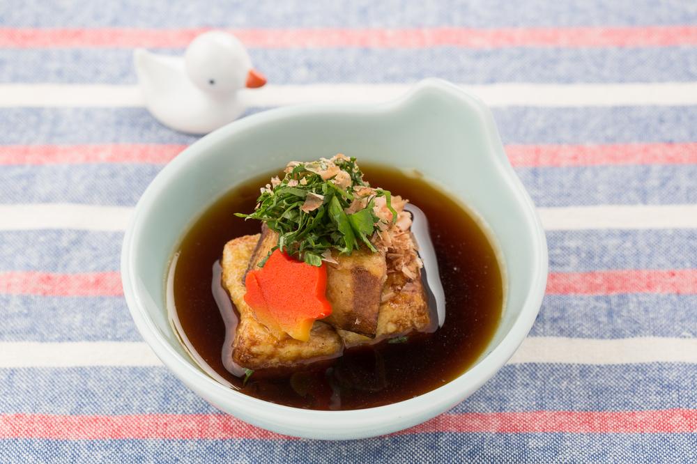 豆腐と里芋の揚げだし