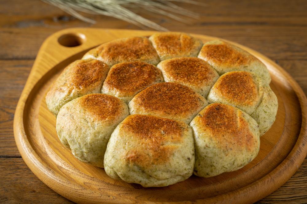 やきそばのりのちぎりパン