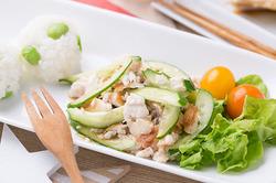 ブリの塩焼きサラダ