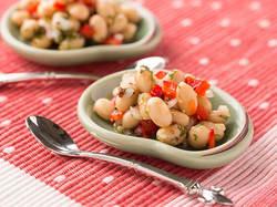 豆のカラフルサラダ