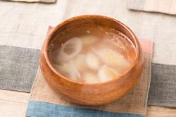 ネギごまスープ
