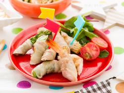 野菜の肉巻きグリル