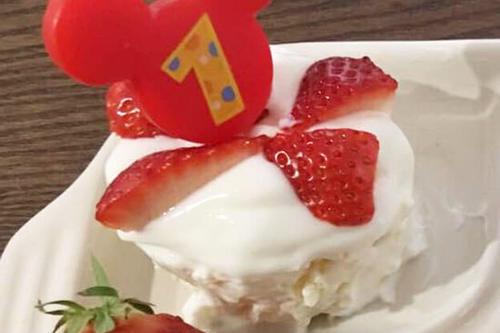 1歳のベビー用ケーキ