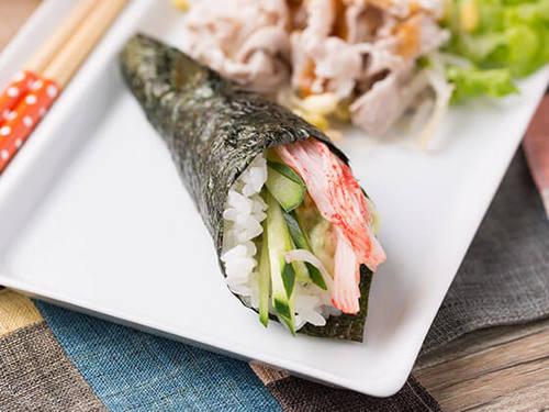 カンタン手巻き寿司