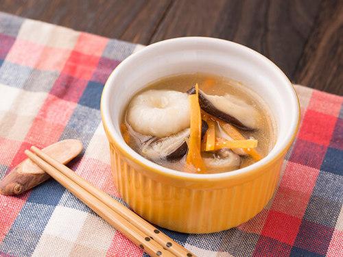れんこん団子の味噌汁