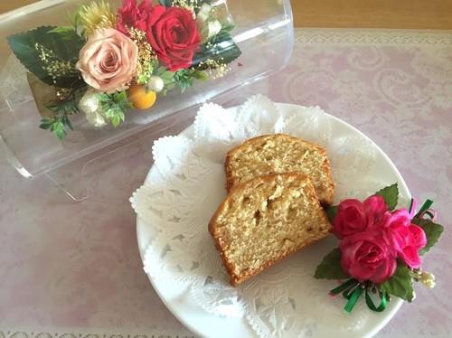 我が家のマーマレードパウンドケーキ