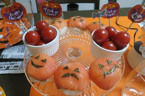 おばけかぼちゃの手毬寿司