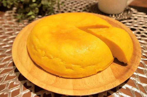 炊飯器で簡単!かぼちゃのチーズケーキ