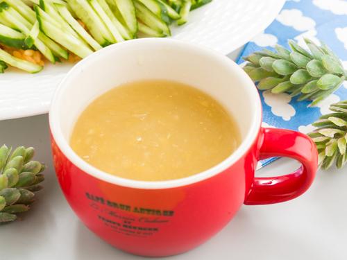 エスニックコーンスープ