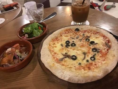 PIZZA&TAPAS cibo