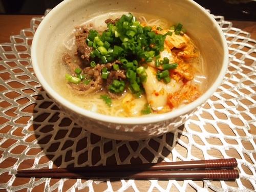 スタミナ肉素麺