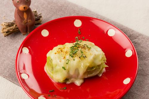 ロール白菜のオーブン焼き
