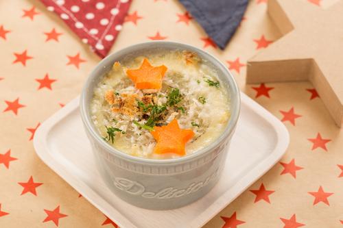 ごろッと玉ねぎのスープグラタン