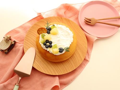 炊飯器で簡単!「スフレチーズケーキ」
