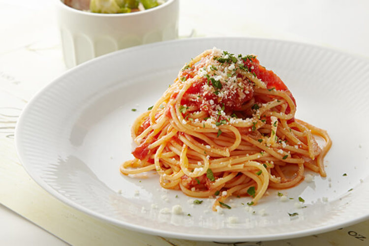 トマトソーススパゲッティー
