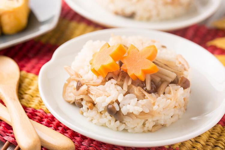 秋のきのこ寿司
