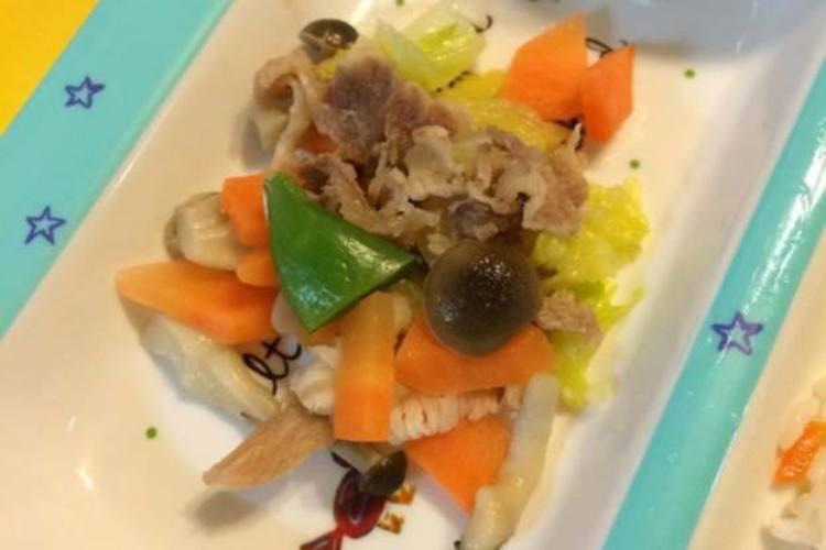 野菜炒め(八宝菜風)