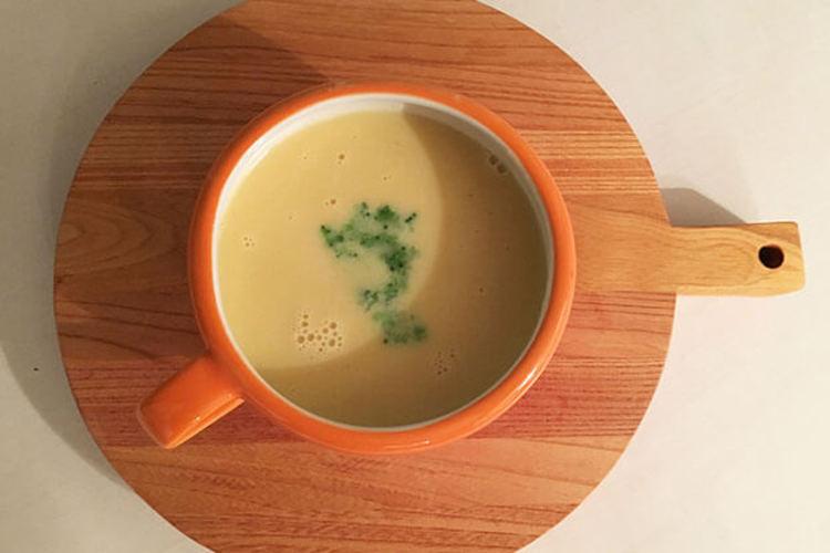 【牛乳不使用】豆乳コーンスープ