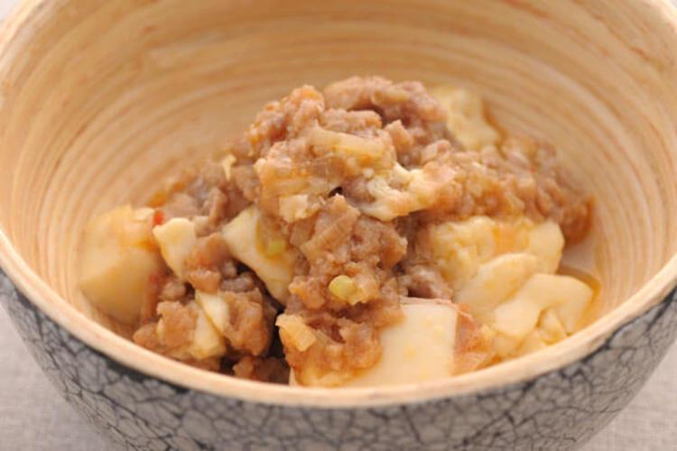 みんな大好き!レンチン麻婆豆腐