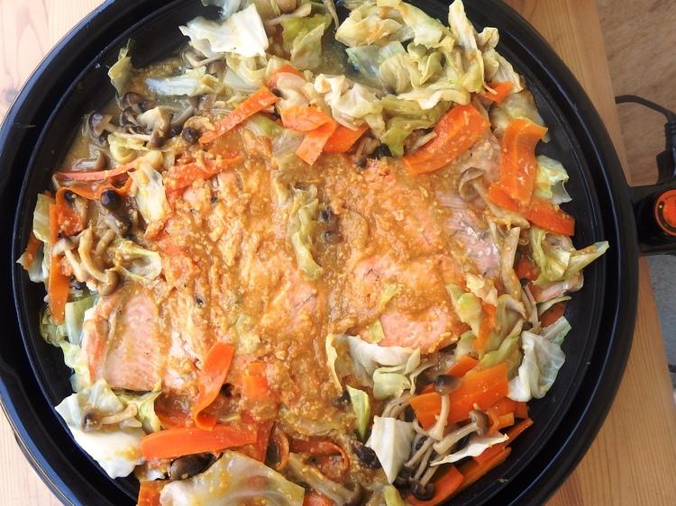 北海道の味!鮭のちゃんちゃん焼き